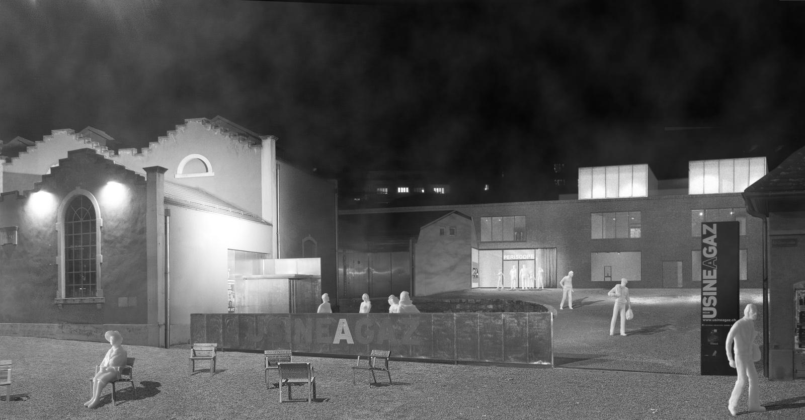 Théâtre logements et bureaux site de lusine à gaz nyon
